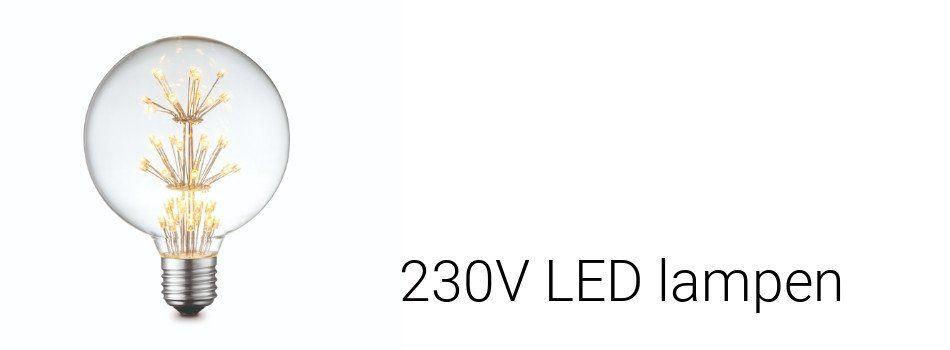 230V LED lampen