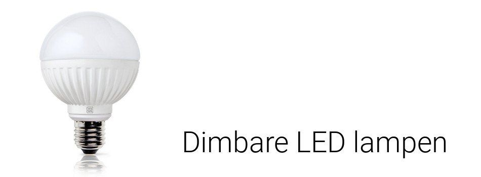 Dimbare LED lampen