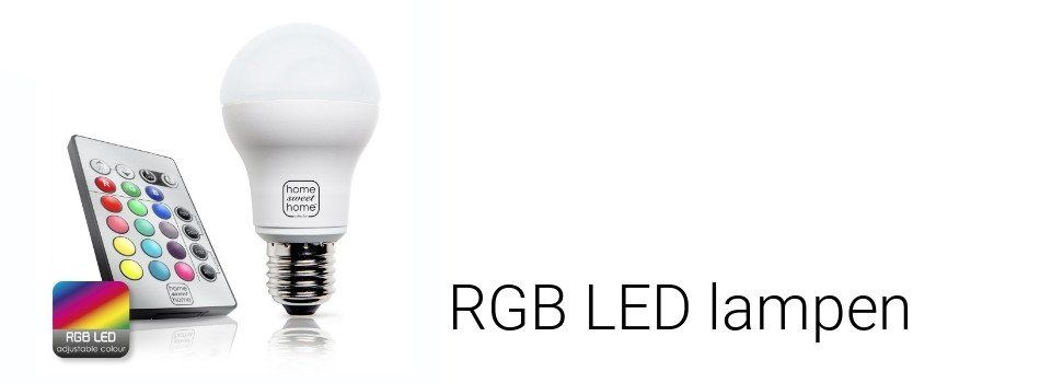 RGB LED lampen