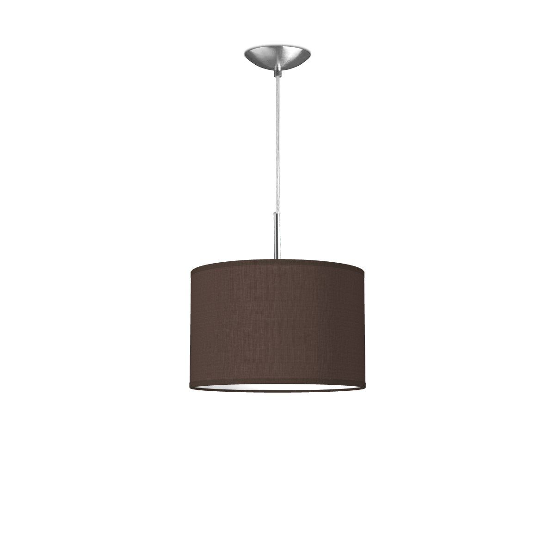 hanglamp tube deluxe bling Ø 30 cm - bruin