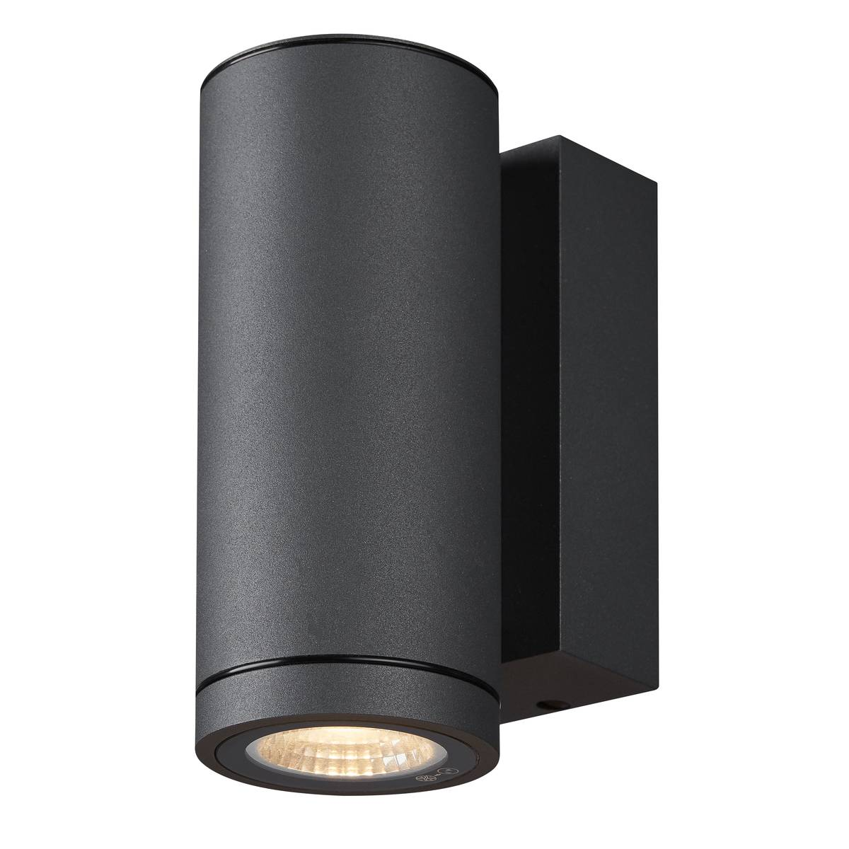 SLV buiten wandlamp Enola Round S - antraciet