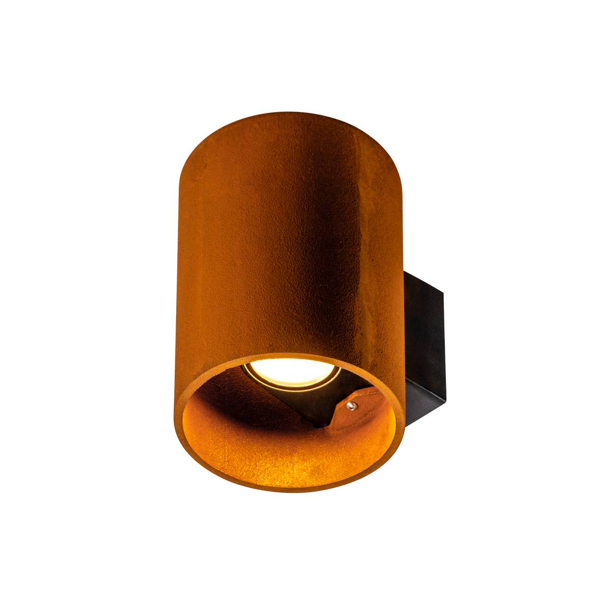 SLV buiten wandlamp Rusty Up/Down rond - roest
