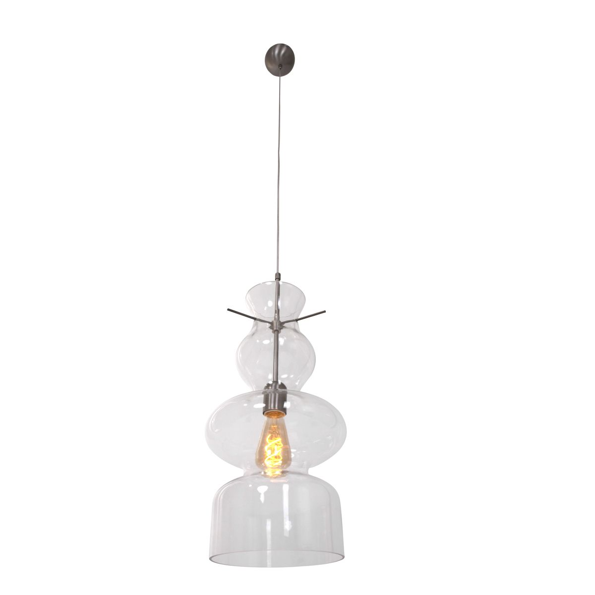 Steinhauer - Anne Day and Night - hanglamp - staal