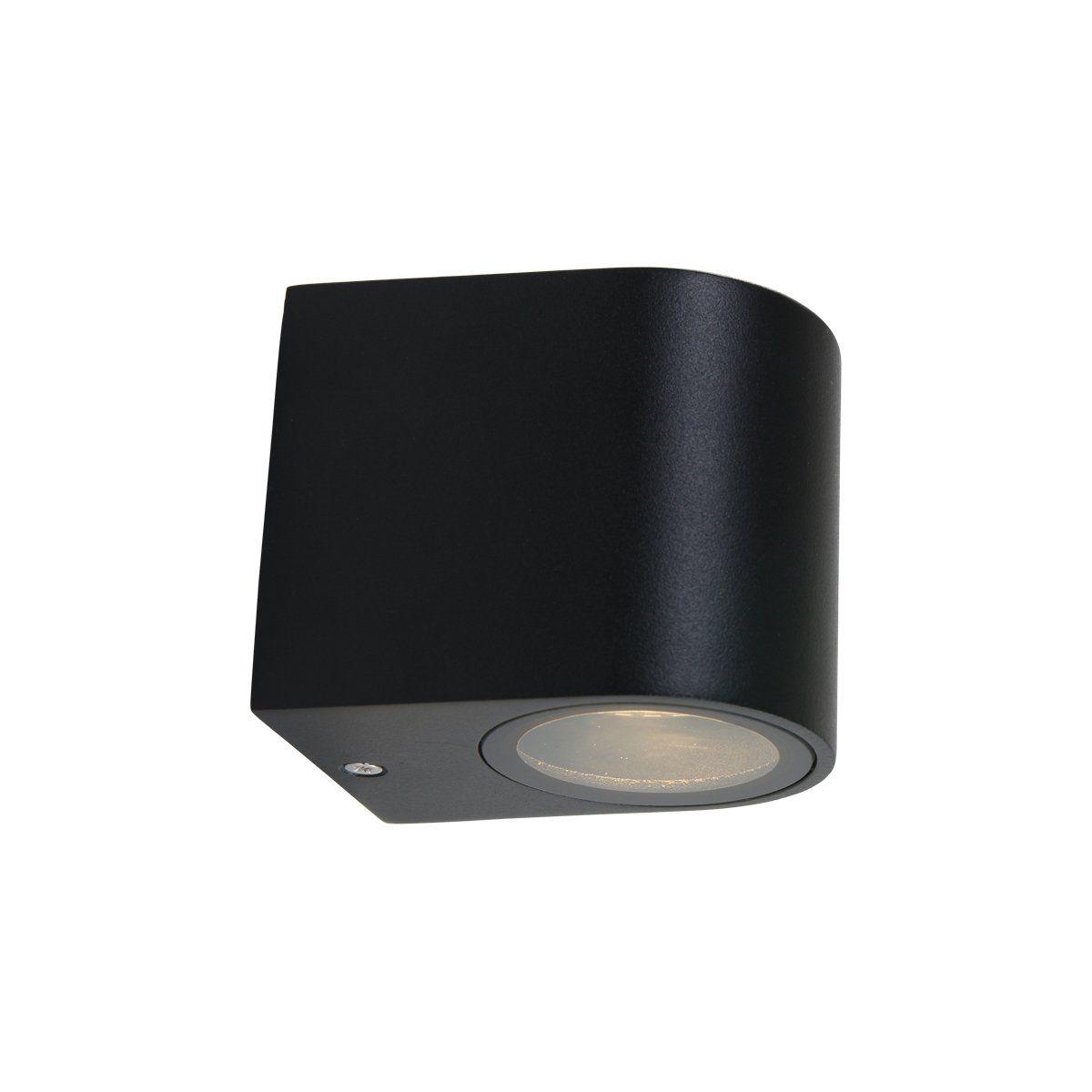 Steinhauer buiten wandlamp Logan cilinder - zwart