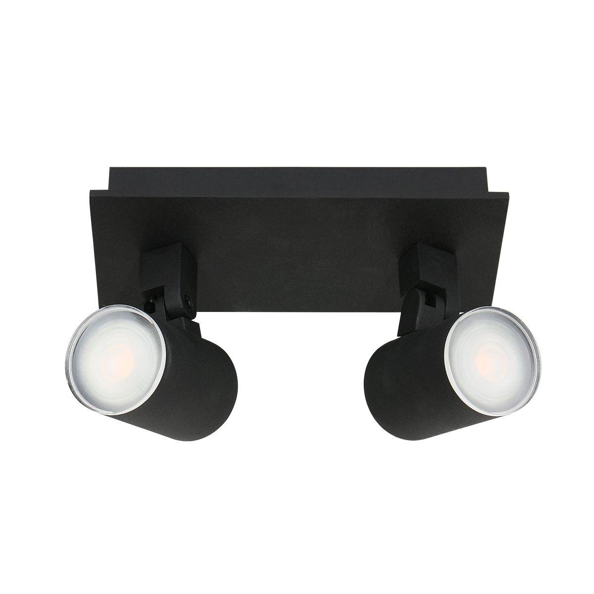 Steinhauer - Points noirs - badkamer spot 2L - zwart