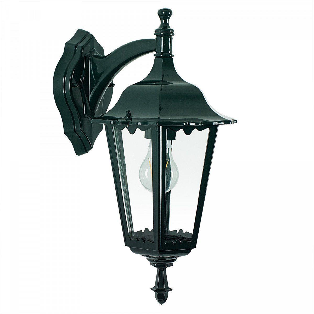 KS Verlichting buiten hang-wandlamp Ancona - groen/zwart