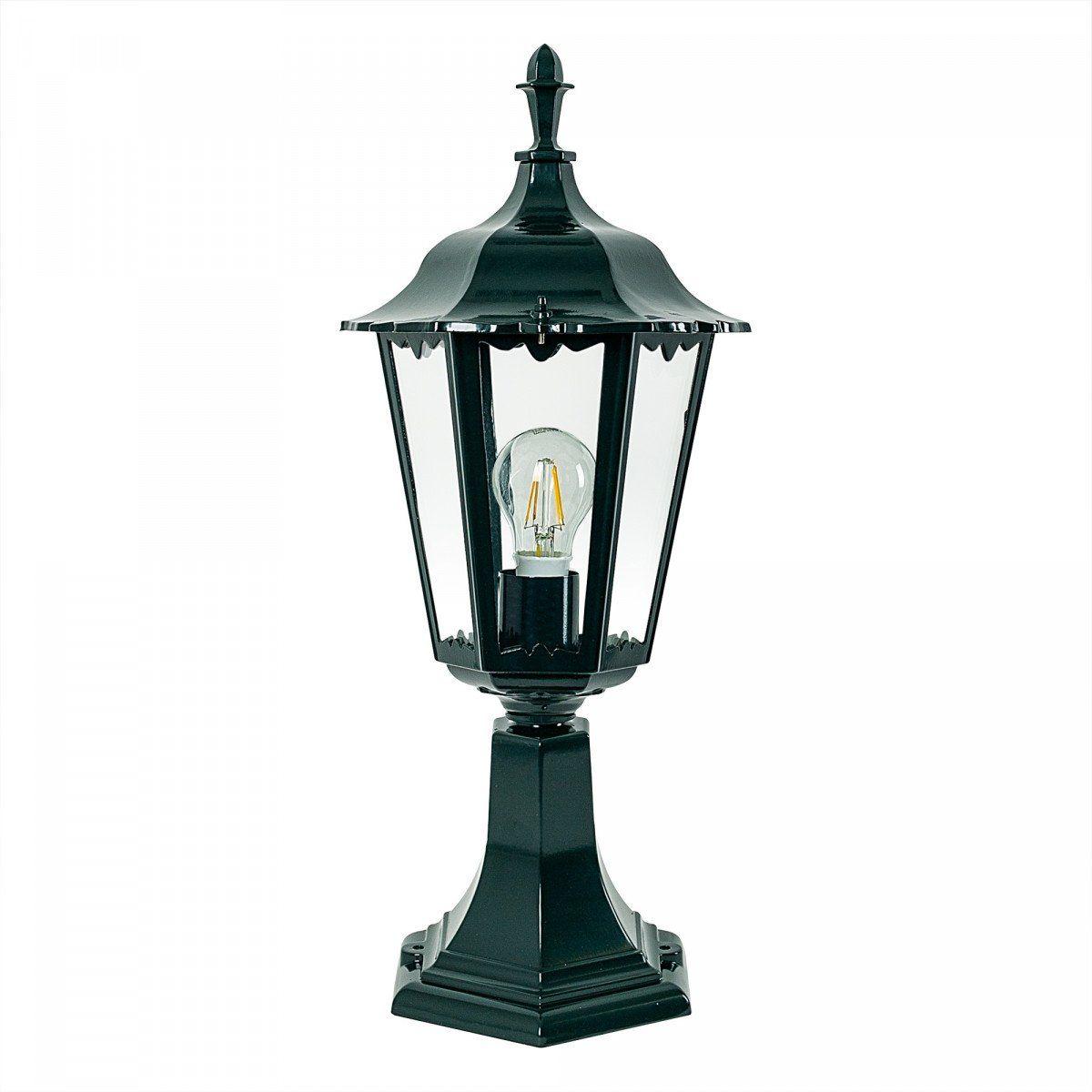 KS Verlichting sokkel tuinlamp Ancona - zwart