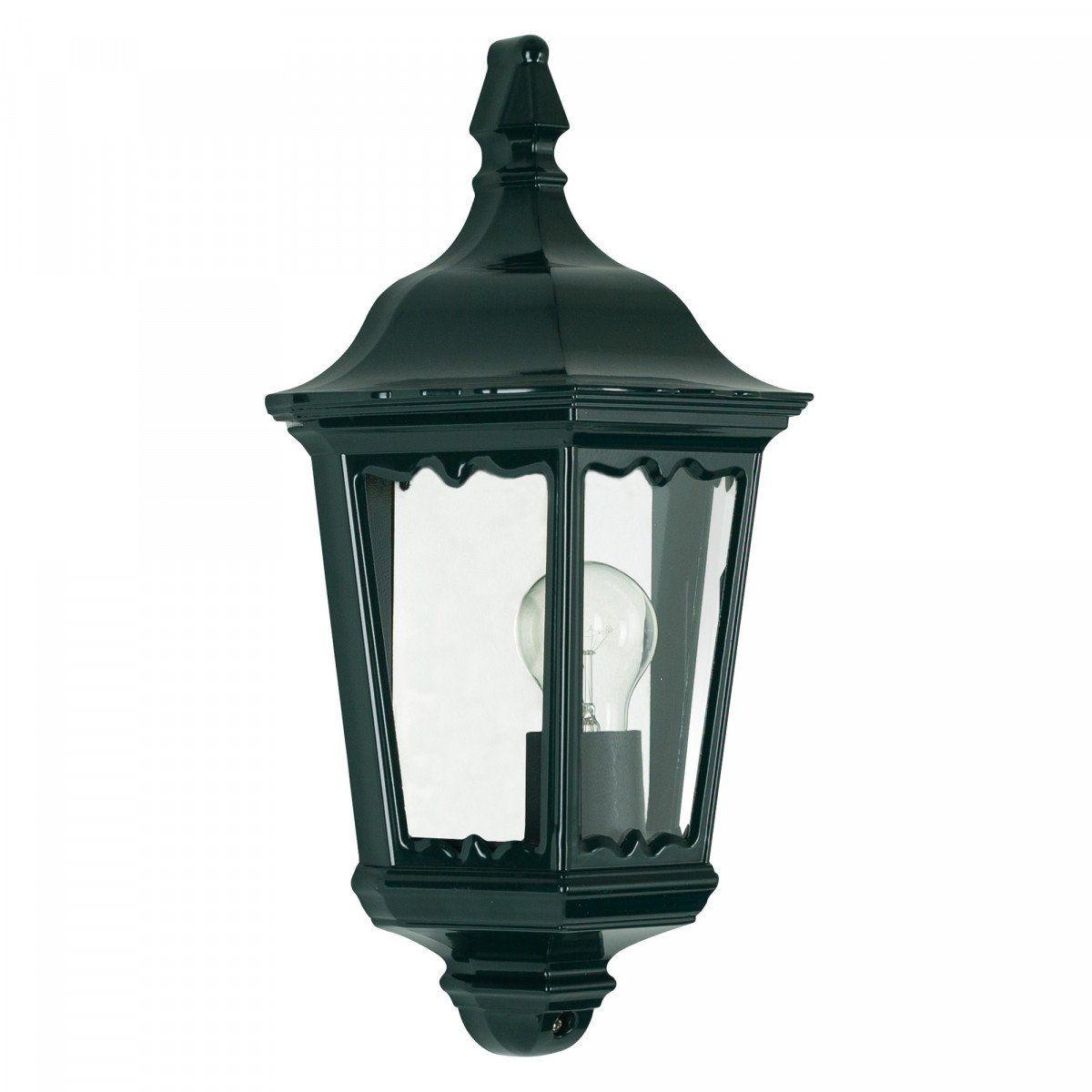 KS Verlichting buiten wandlamp Ancona Plat - groen/zwart