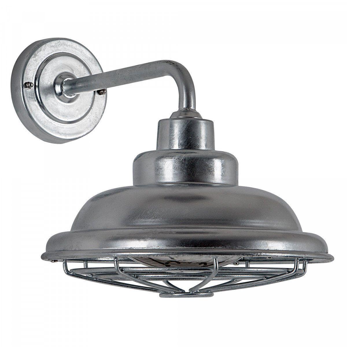 KS Verlichting buitenwandlamp Petrol - Zilver