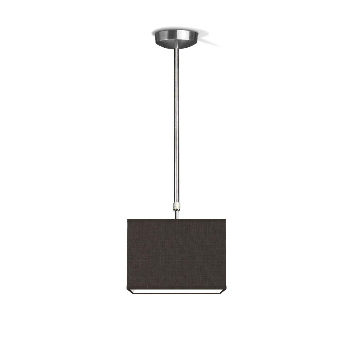 hanglamp fix block ↔ 25 cm - zwart