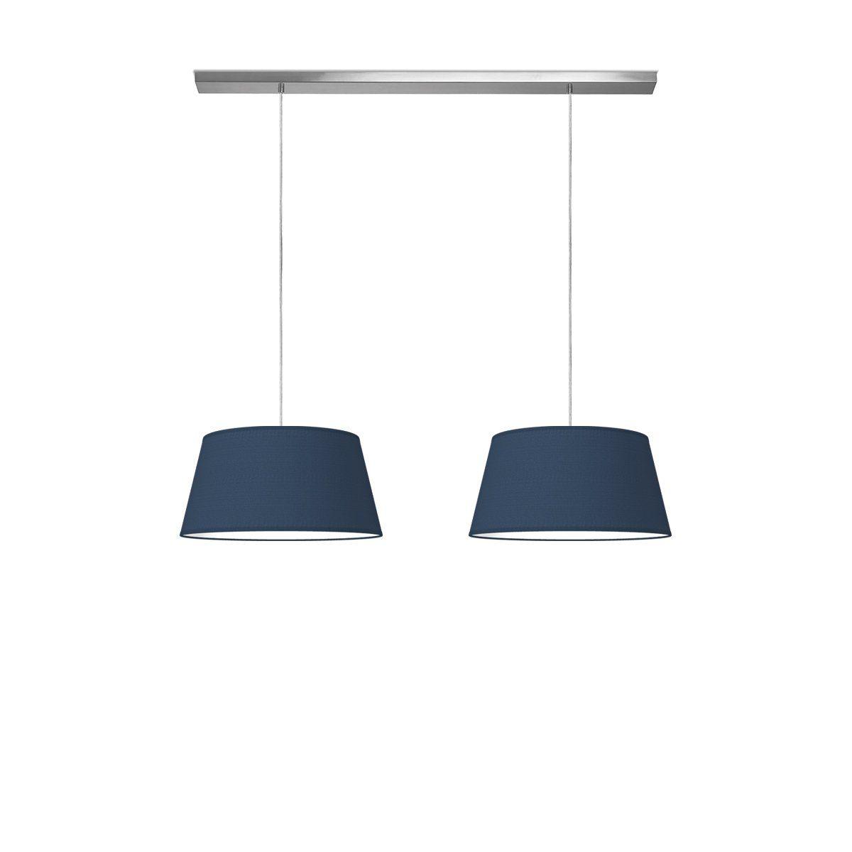 Home sweet home lampenkap Vino Ø 45 cm - blauw