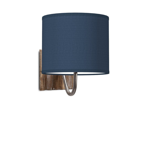 Home sweet home lampenkap Bling 20 - donkerblauw