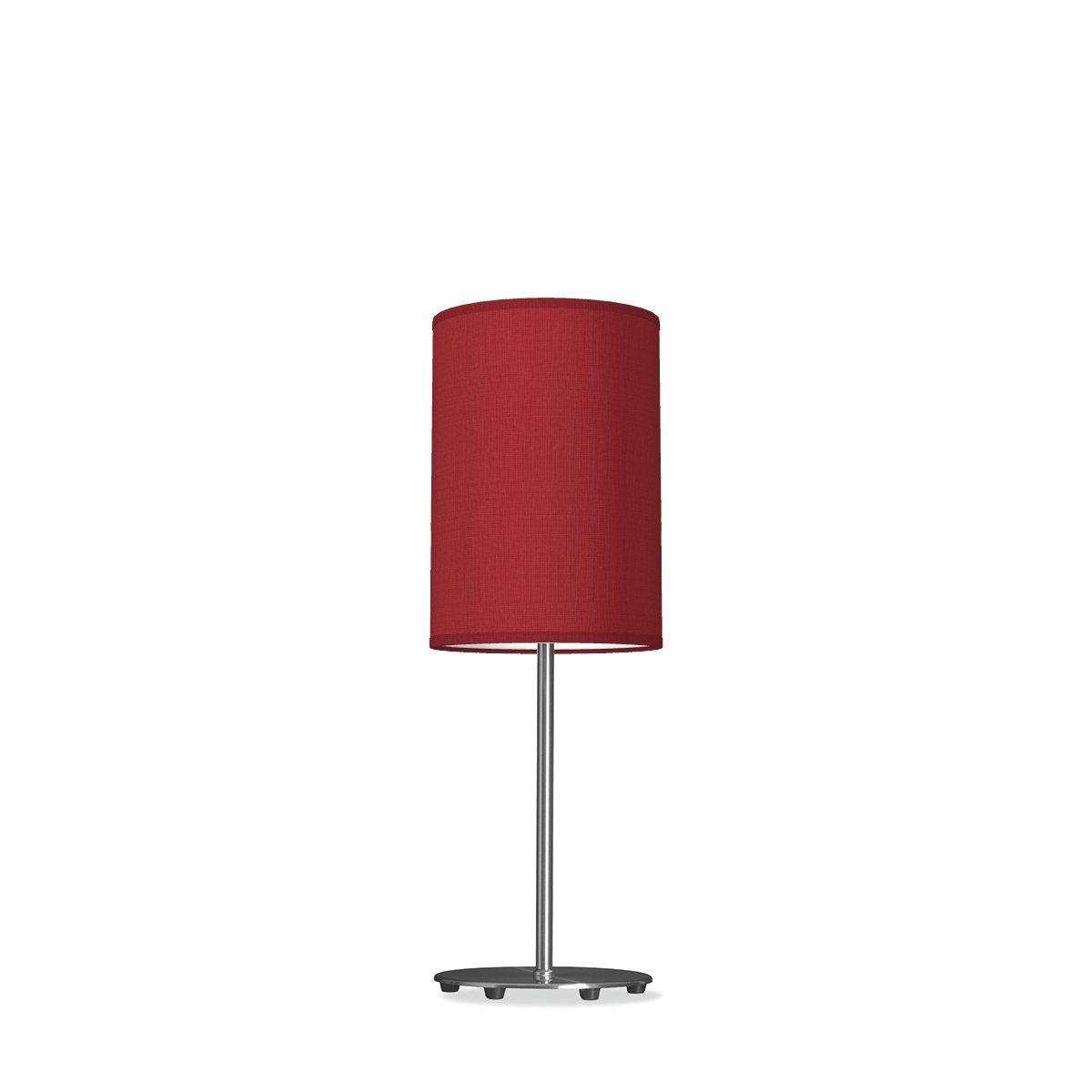 tafellamp lift tube Ø 20 cm - rood