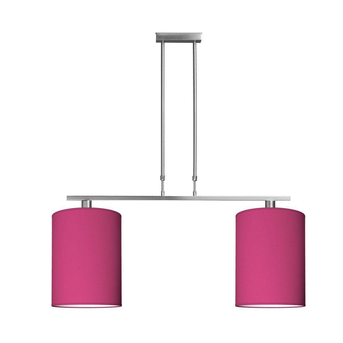hanglamp bridge 2 tube Ø 30 cm - roze