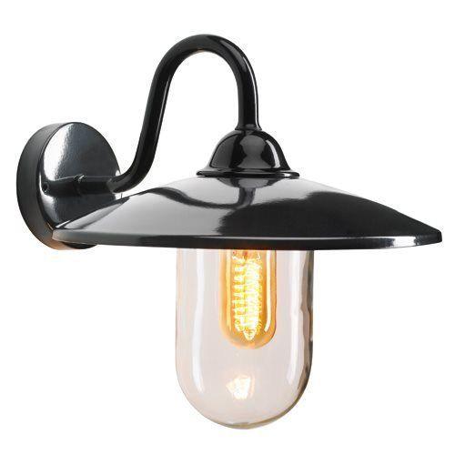 KS Verlichting buiten wandlamp Brig - zwart