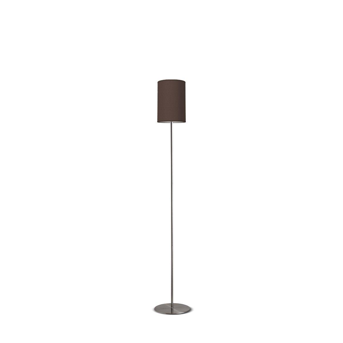 vloerlamp Lift tube 20 - bruin