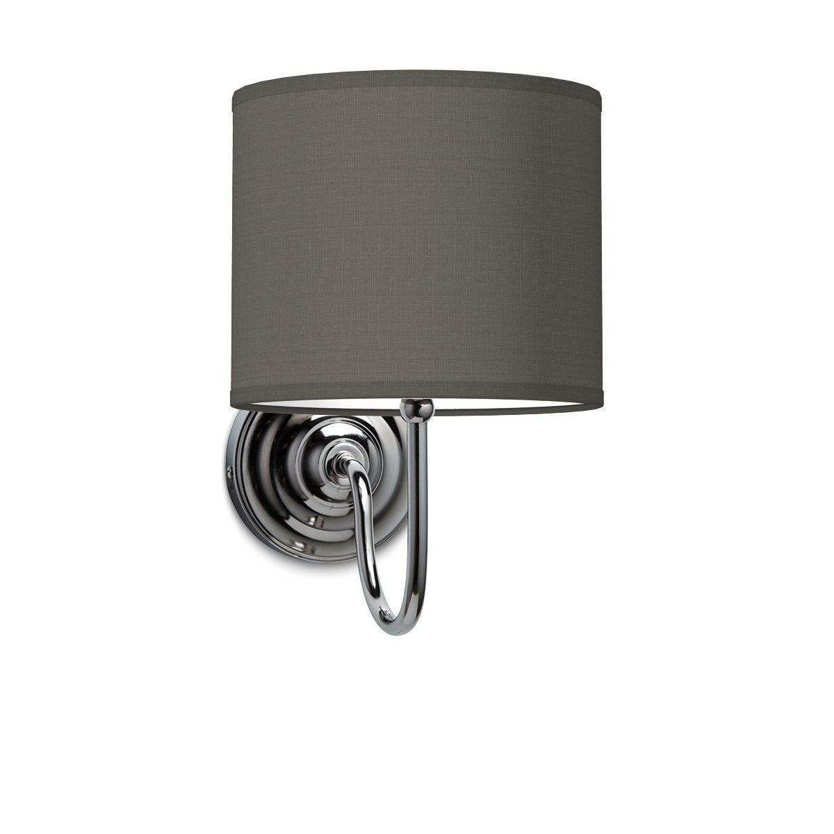 Wandlamp lilly bling Ø 20 cm - antraciet