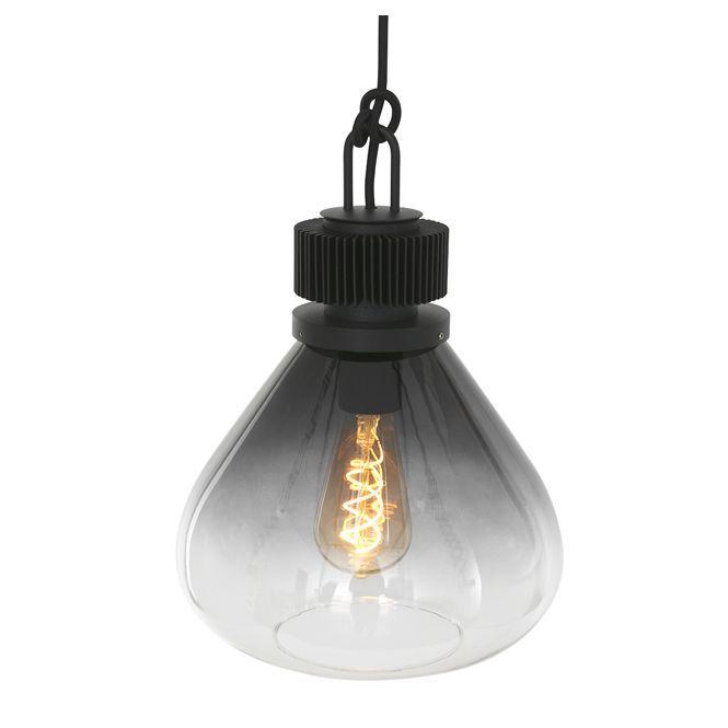 Steinhauer hanglamp Flere 1 lichts 25 cm - smoke glas