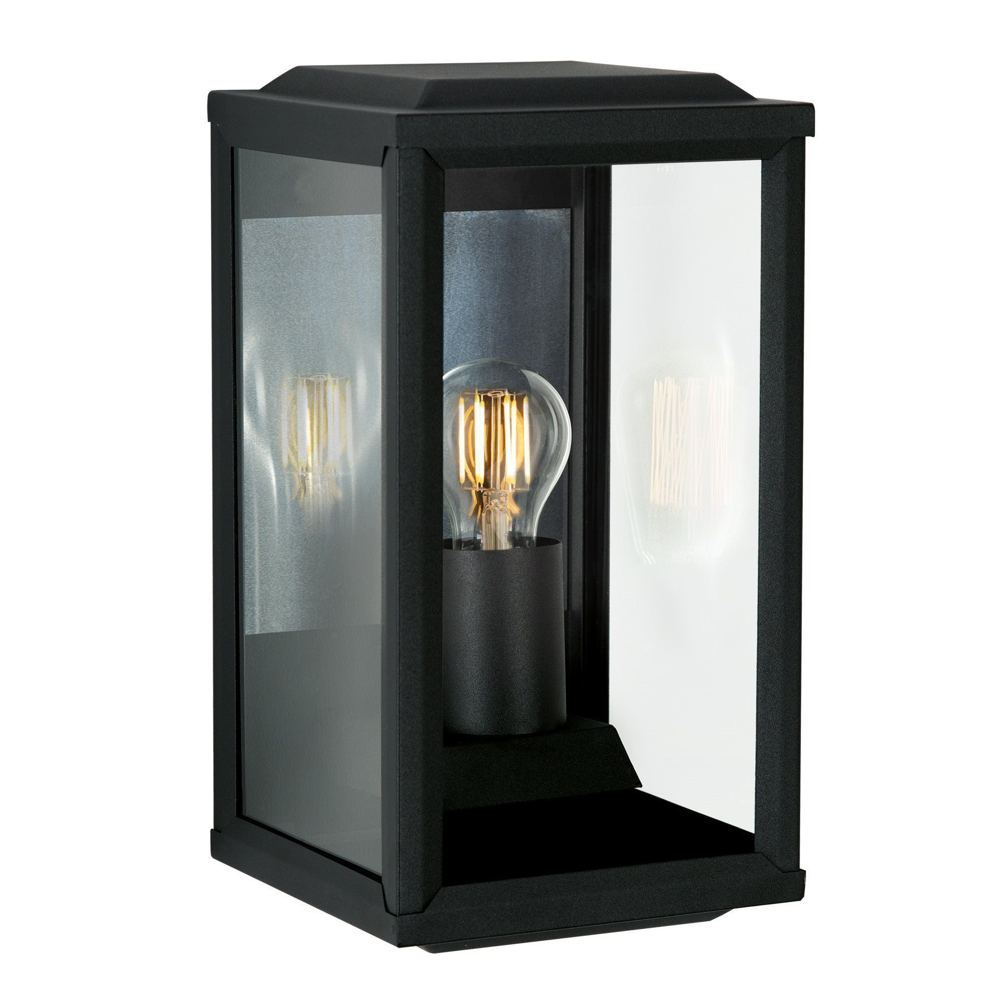 KS Verlichting buiten wandlamp Gooi Groot - zwart