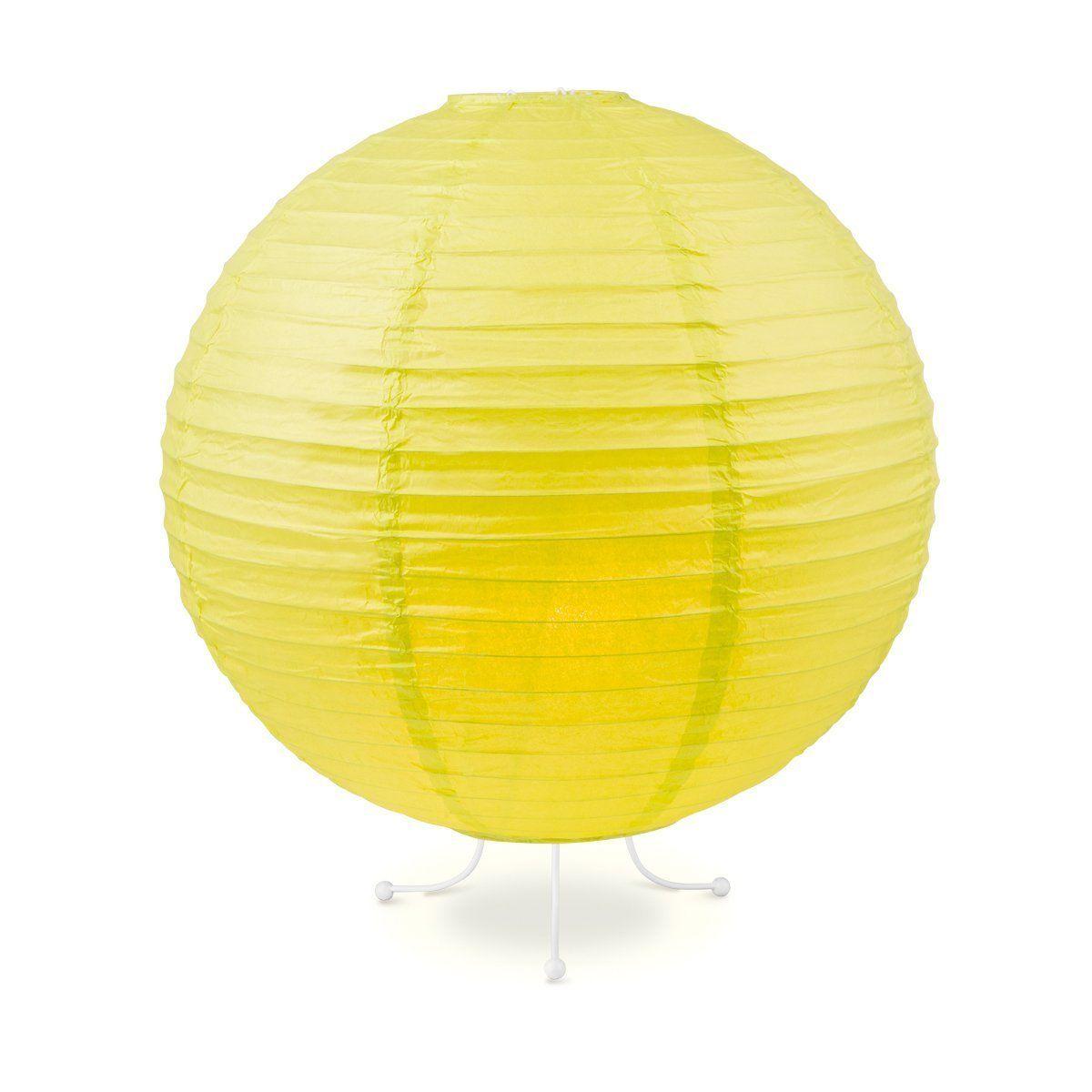 Home sweet home tafellamp Lampion Ø 40 cm - geel/groen