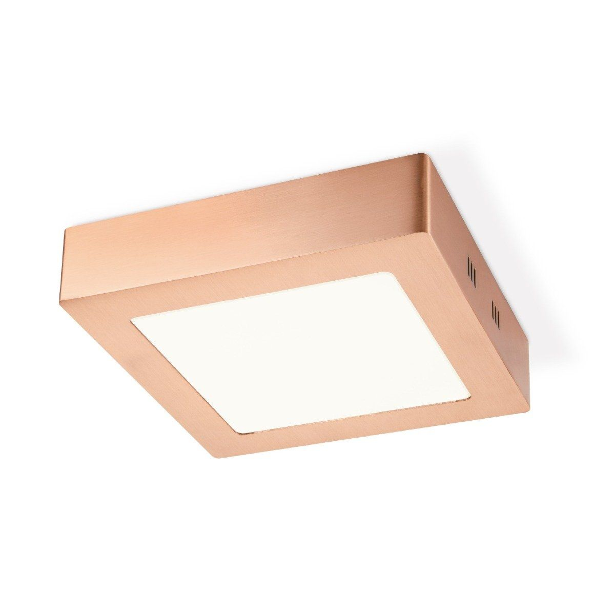Home sweet home LED plafondlamp Ska vierkant 17 - koper