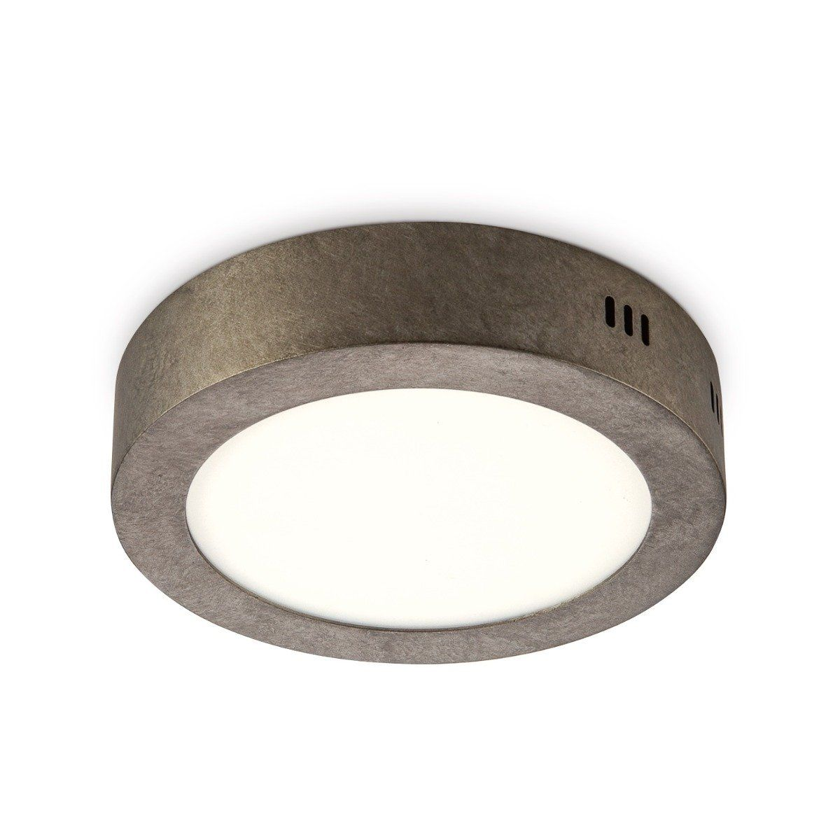 Home sweet home LED plafondlamp Ska 17 burned-metal - taupe
