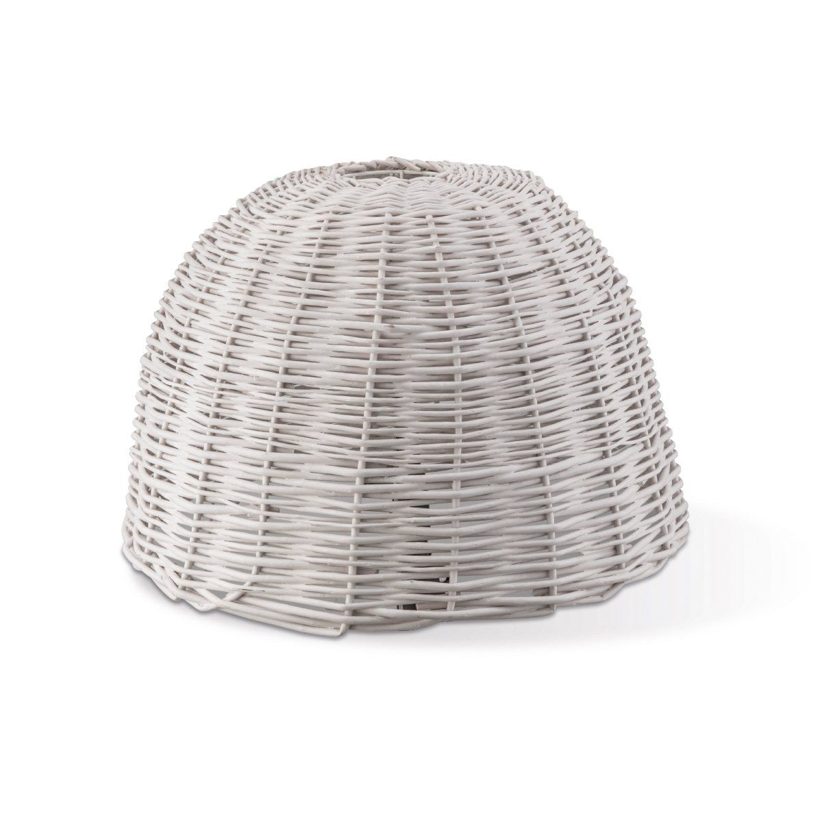 Home Sweet Home lampenkap Roseau Shell 50 rond - wit