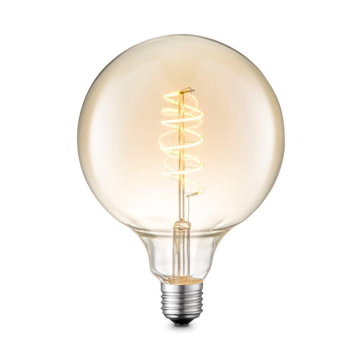 Home sweet home LED lamp Spiral G125 4W dimbaar - amber