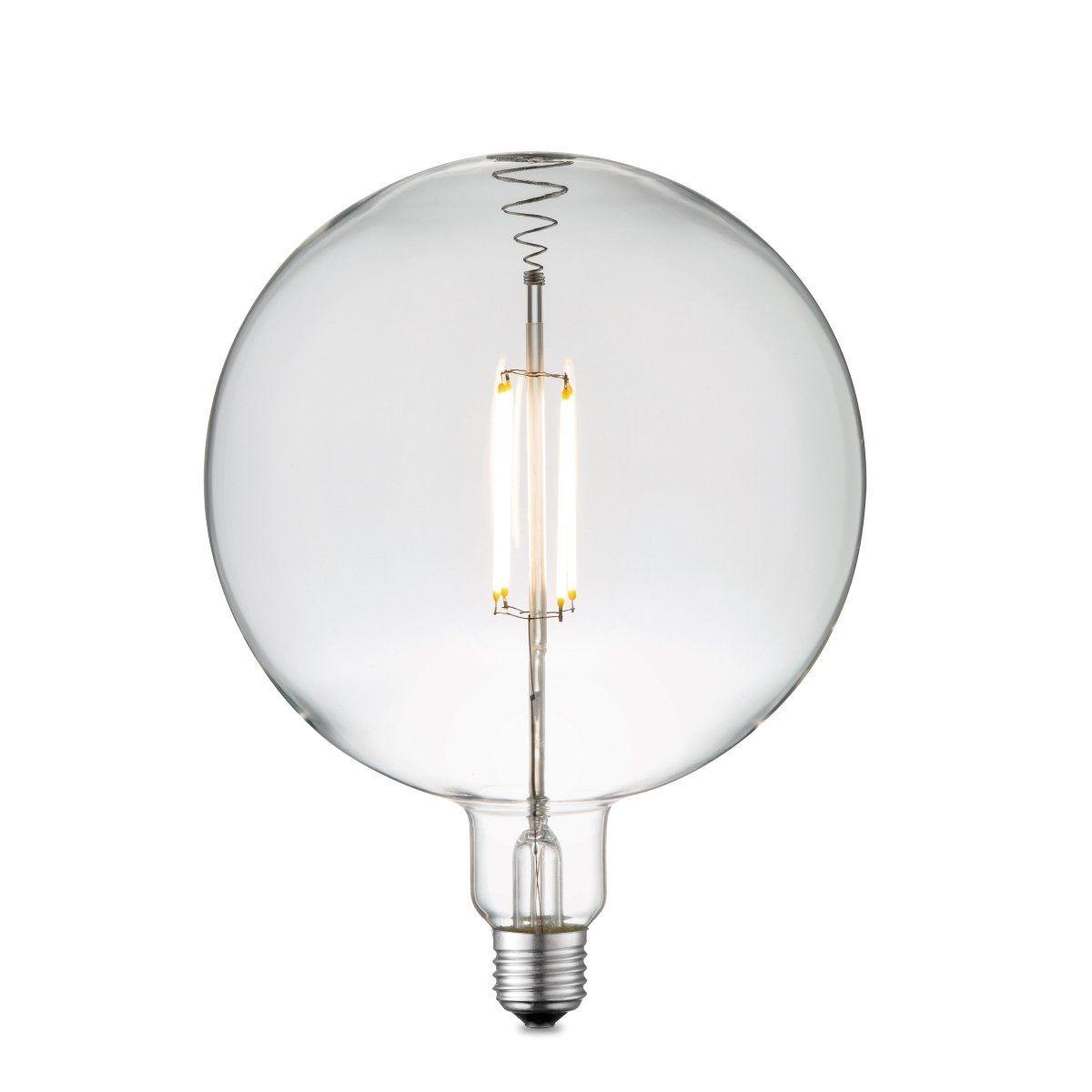 Home sweet home LED lamp Globe G180 E27 4W 400Lm 3000K dimbaar - helder