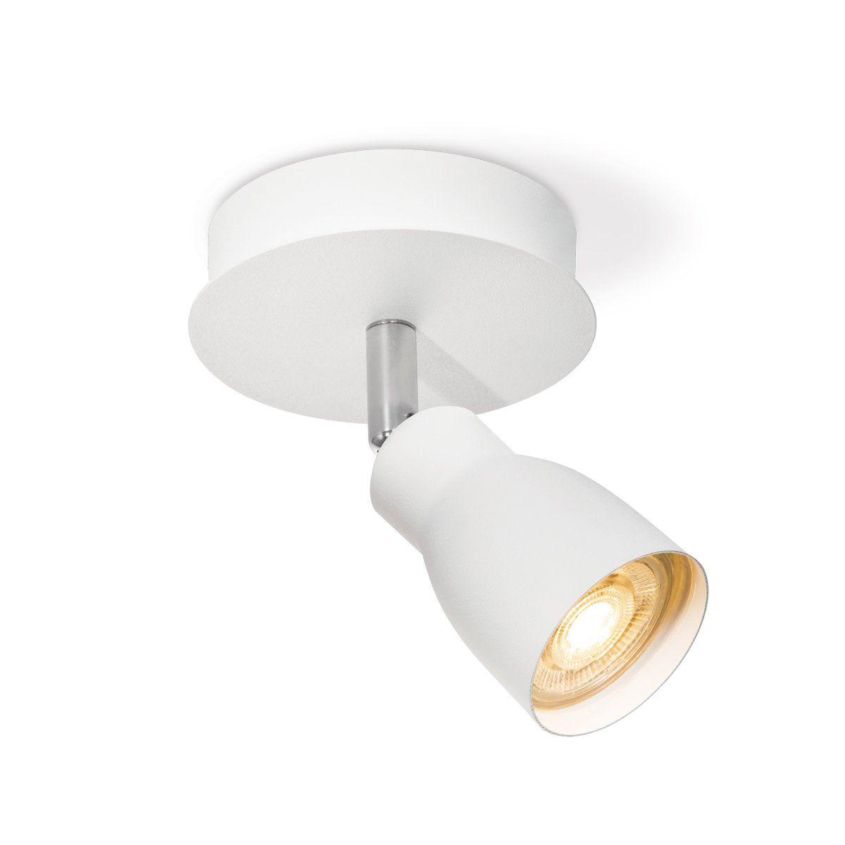 Home sweet home LED opbouwspot Alba Ø 11,5 cm - wit