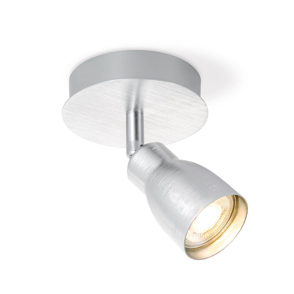 Home sweet home LED opbouwspot Alba � 11,5 cm - aluminium