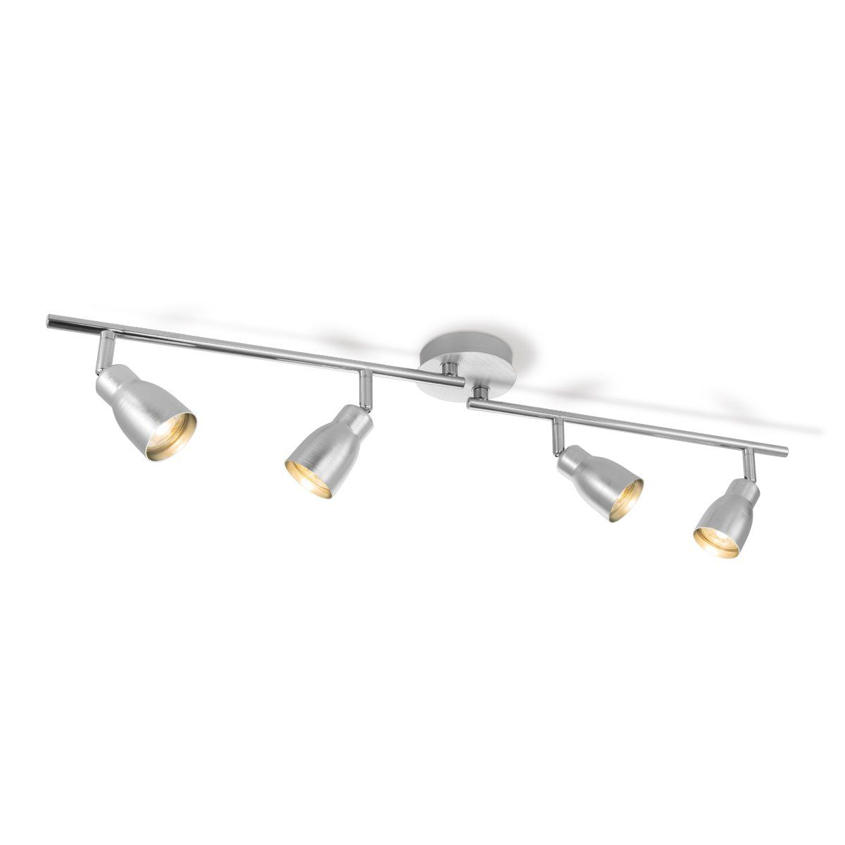 Home sweet home LED opbouwspot Alba 4 lichts ↔ 81 cm - aluminium