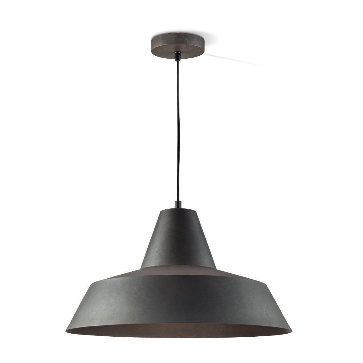 Home sweet home hanglamp Hat 40 - burned-metal