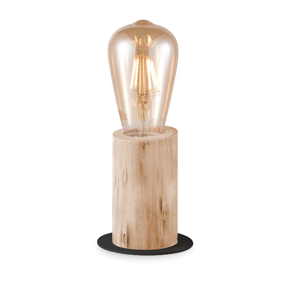 Home sweet home tafellamp Billy small - houten tak