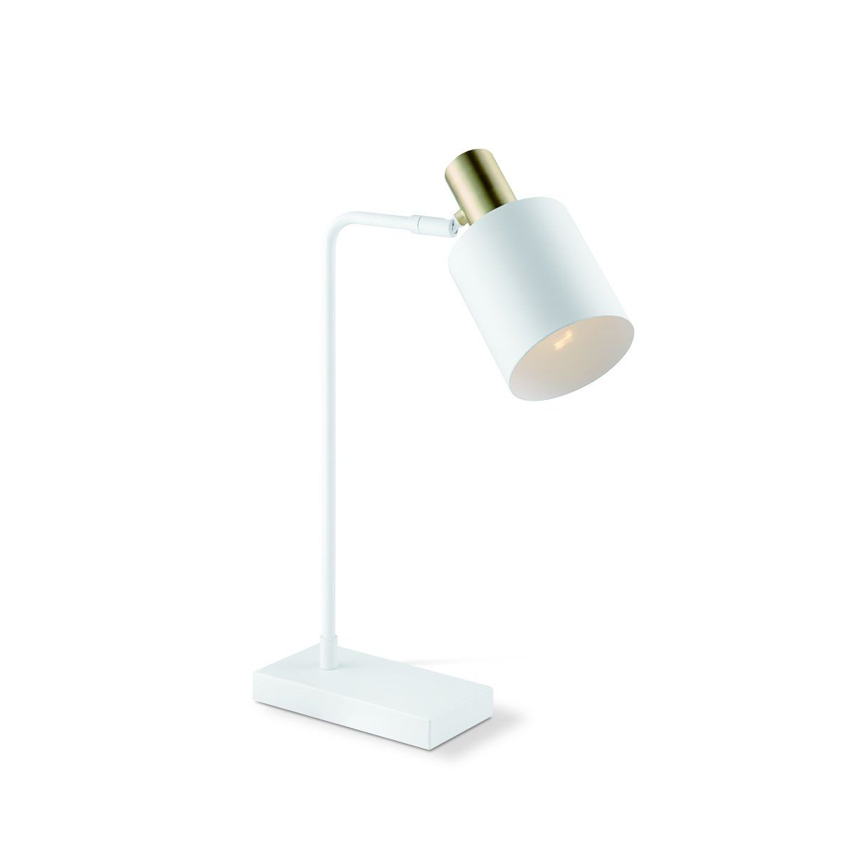 Home sweet home tafellamp Skala - wit/goud