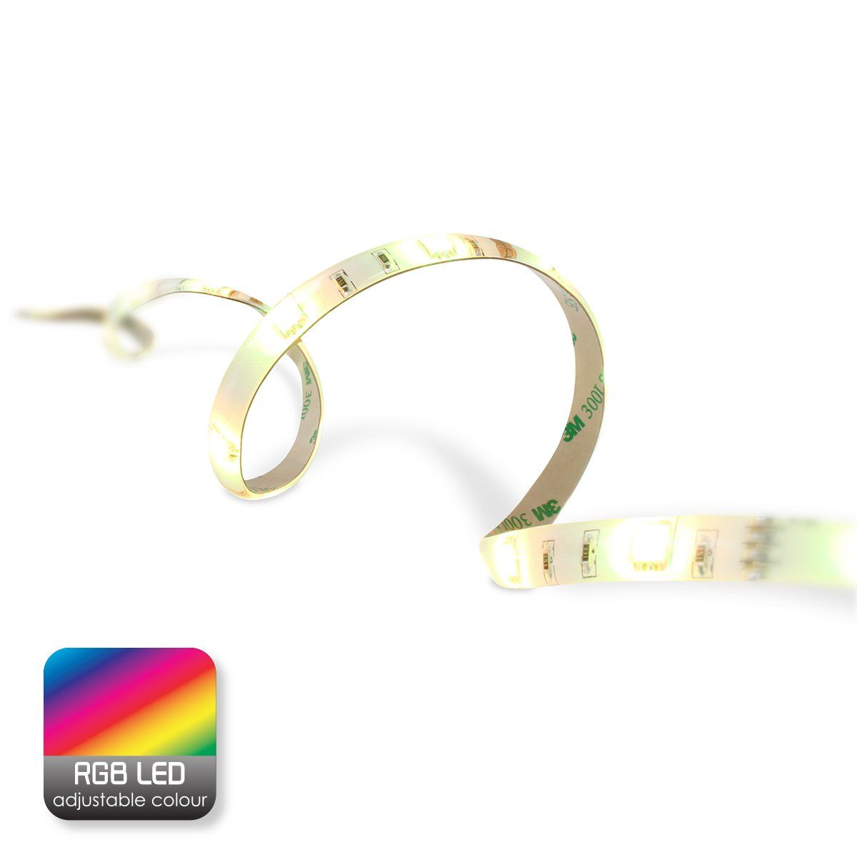 Home sweet home LED strip 3 meter RGB - 90 leds