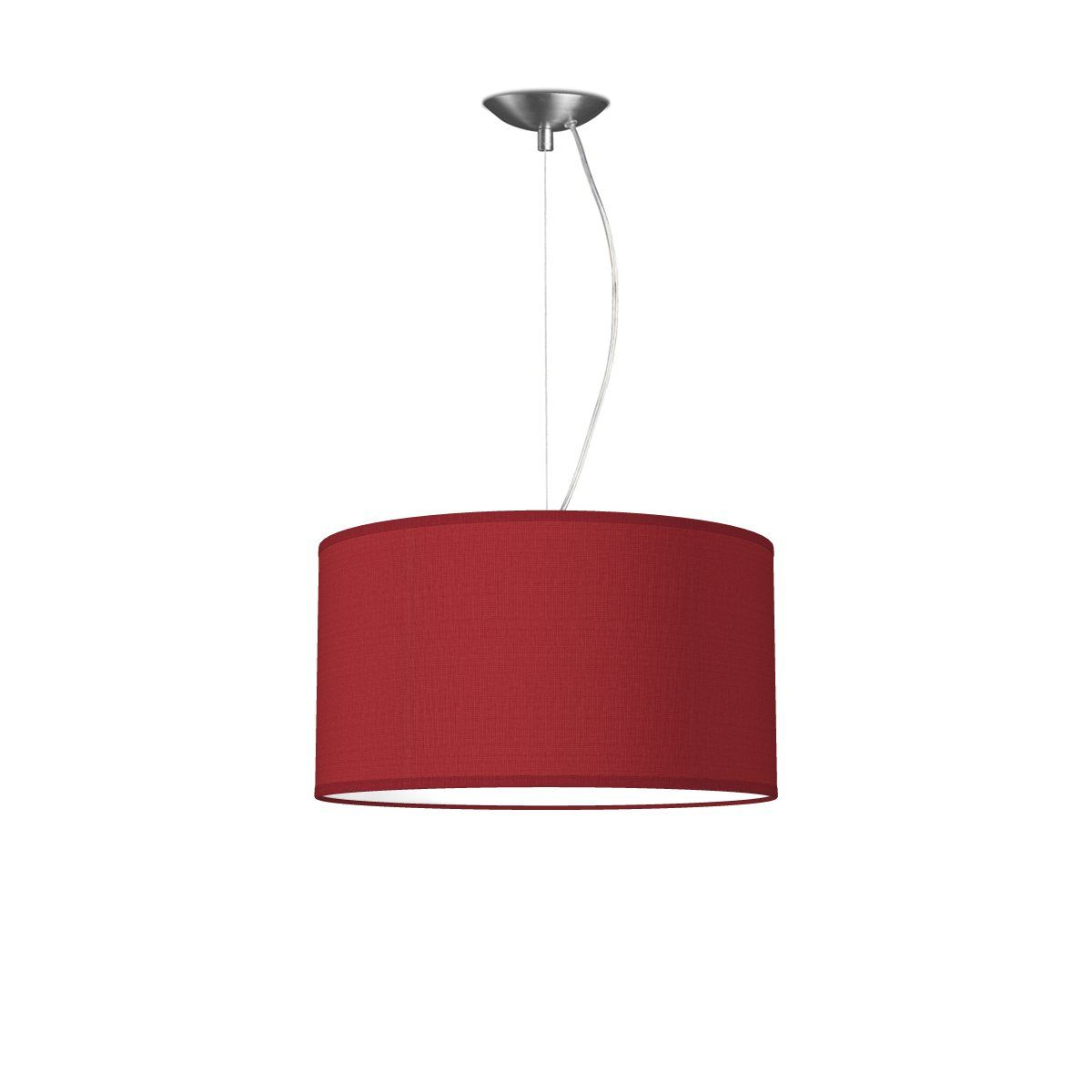 HOME SWEET HOME hanglamp basic deluxe bling Ø 40 cm - Pompeian red