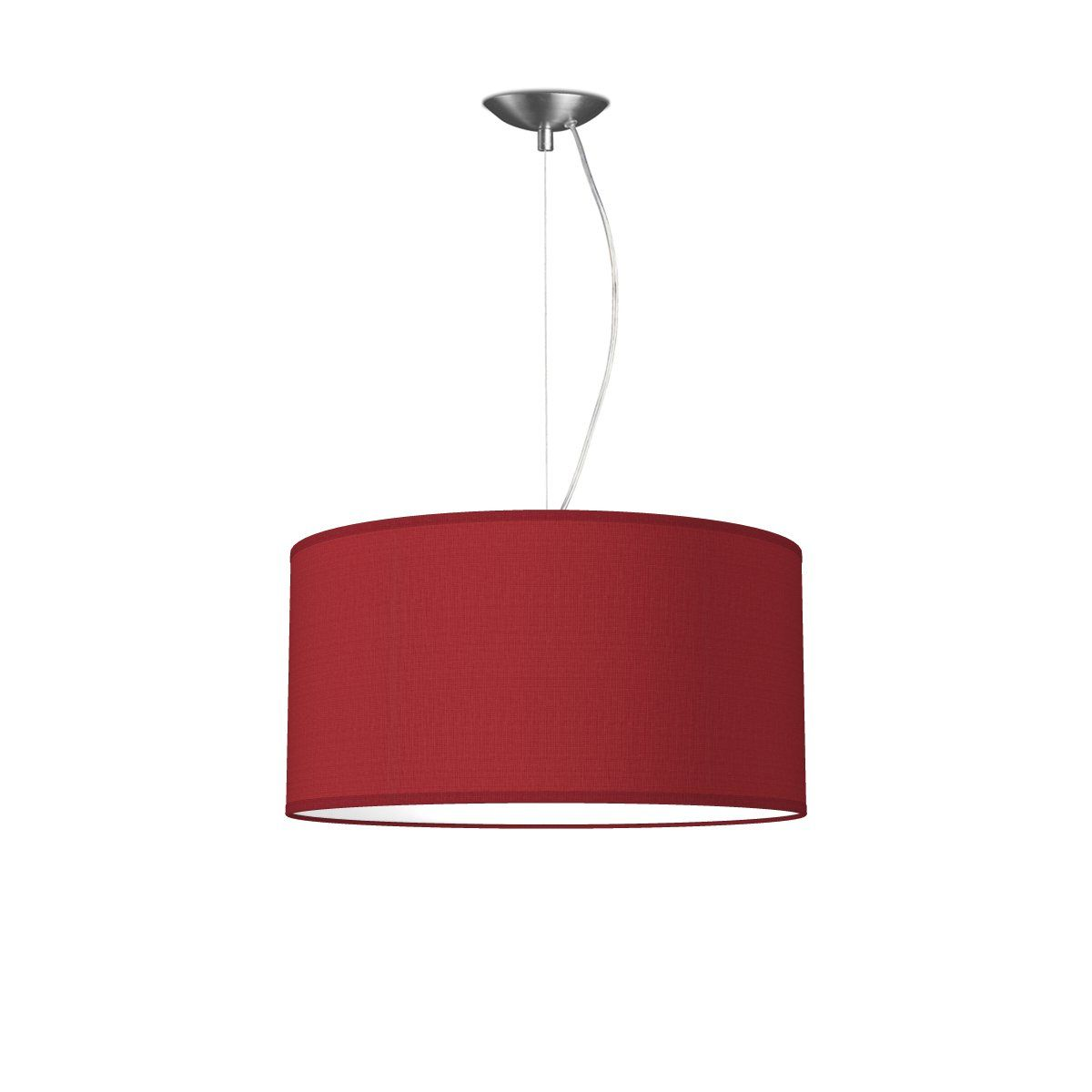 HOME SWEET HOME hanglamp basic deluxe bling Ø 45 cm - Pompeian red