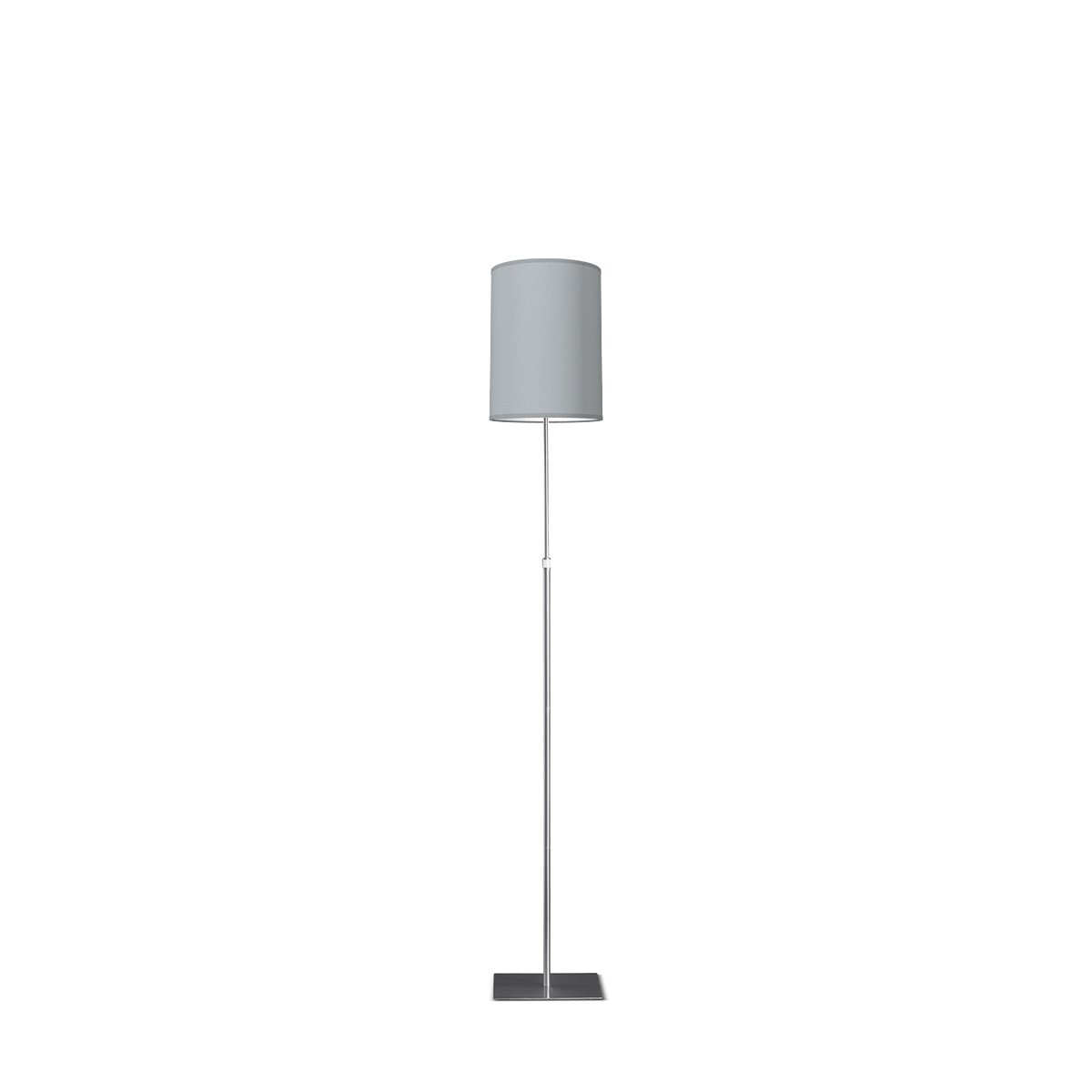 HOME SWEET HOME vloerlamp bobo tube Ø 25 cm - Light grey