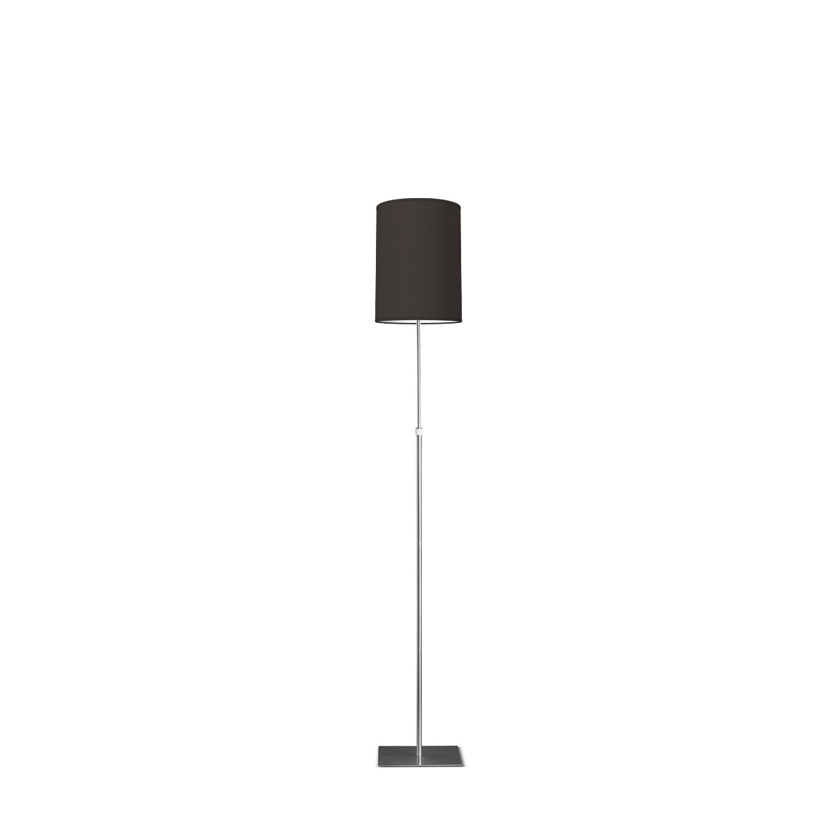 HOME SWEET HOME vloerlamp bobo tube Ø 25 cm - Night black