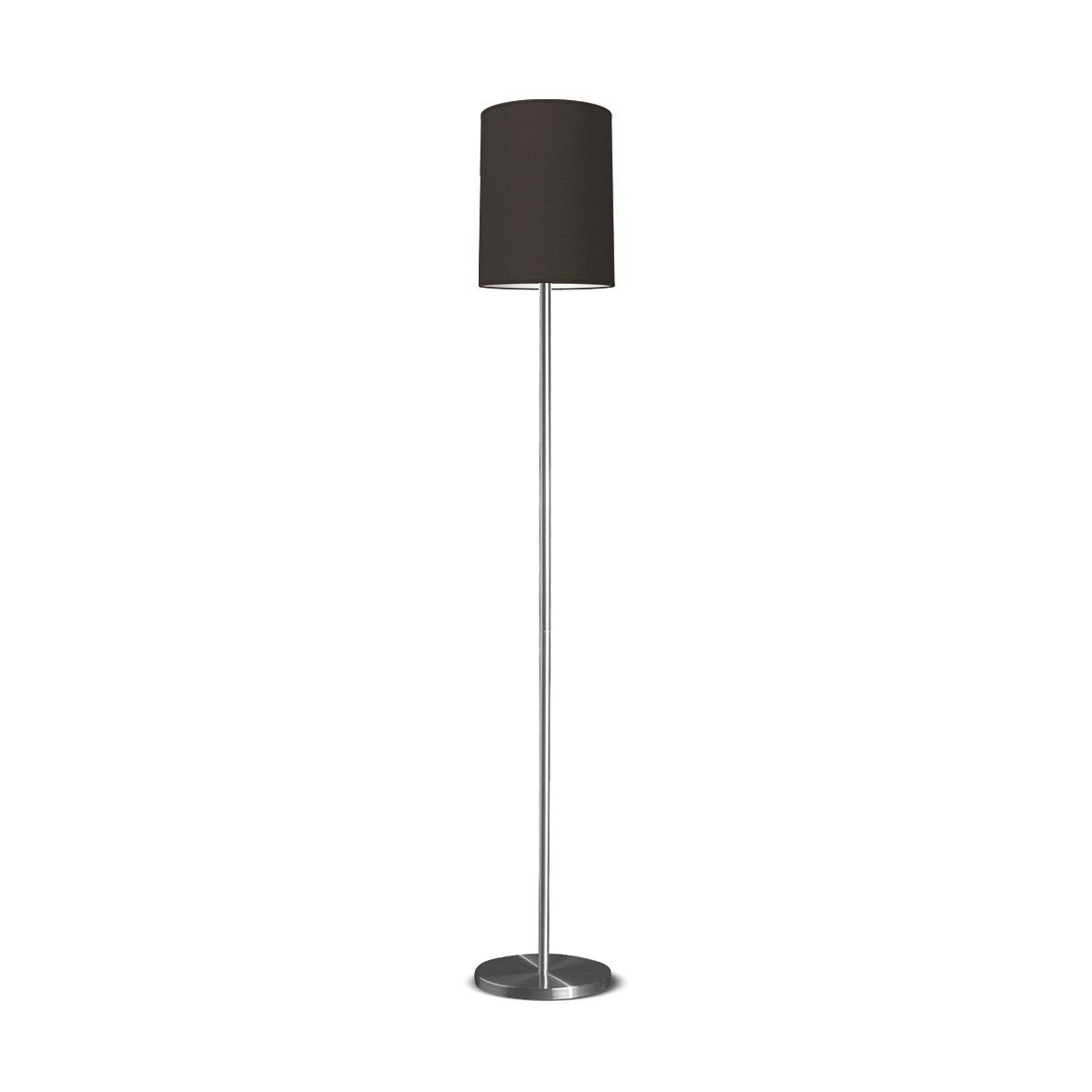 HOME SWEET HOME vloerlamp mauro tube Ø 30 cm - Night black