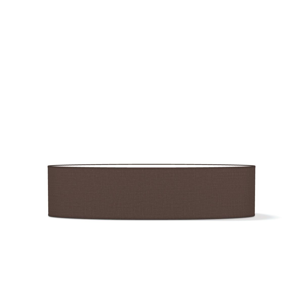 Home sweet home lampenkap Big oval  100 cm - bruin