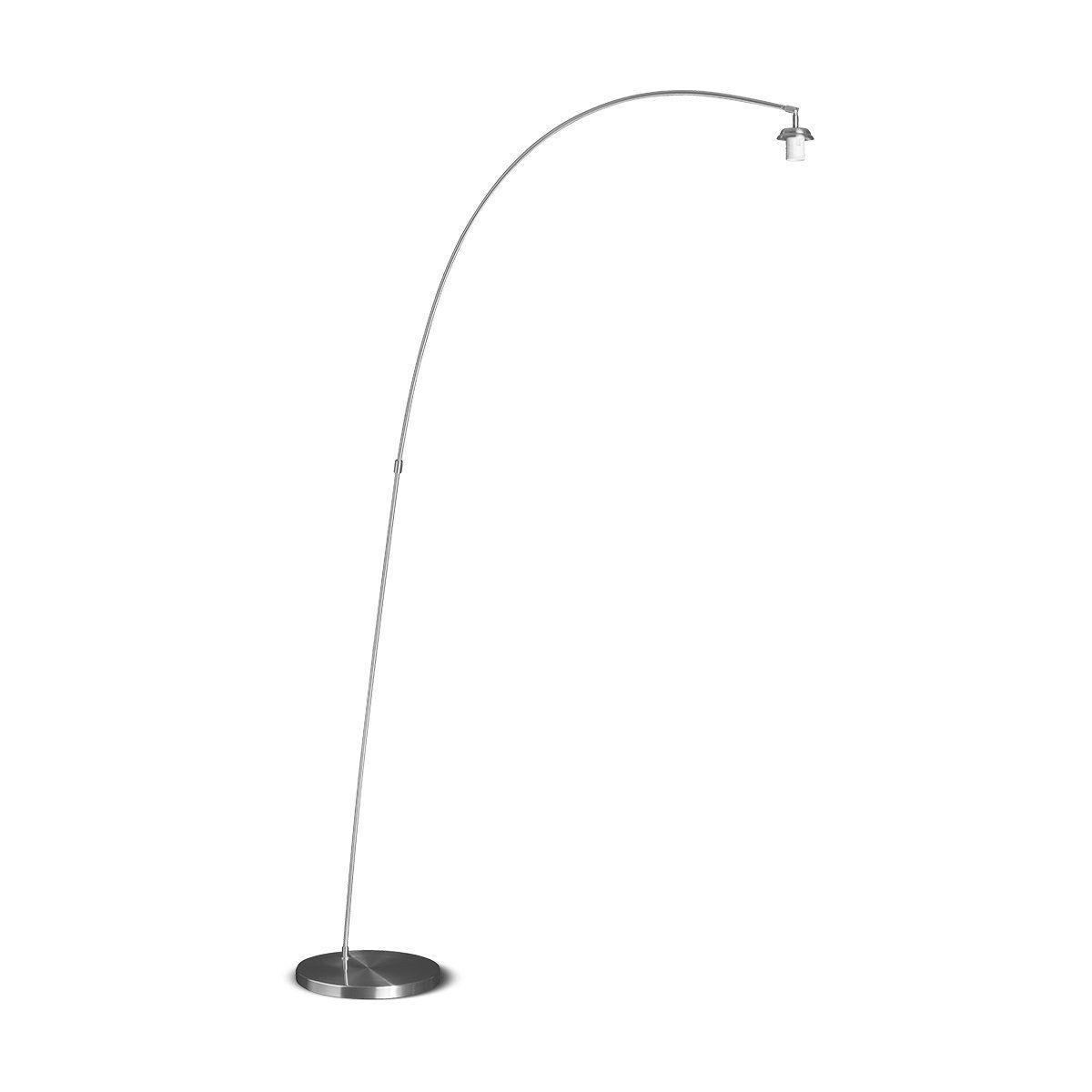 HOME SWEET HOME vloerlamp tong ↕ 190 cm mat staal