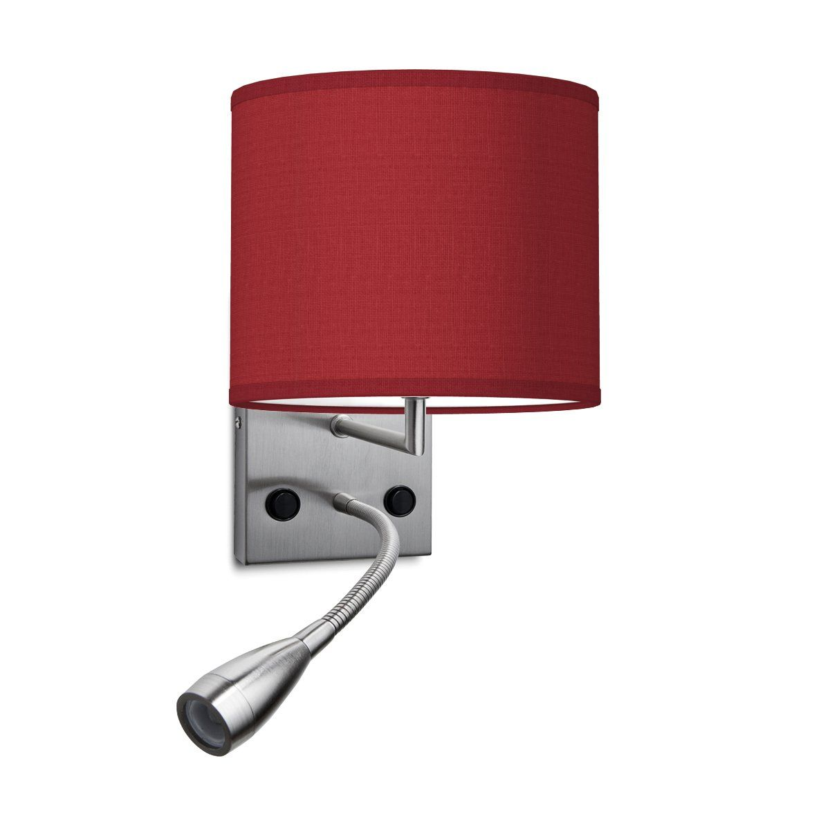 HOME SWEET HOME wandlamp read bling Ø 20 cm - Pompeian red