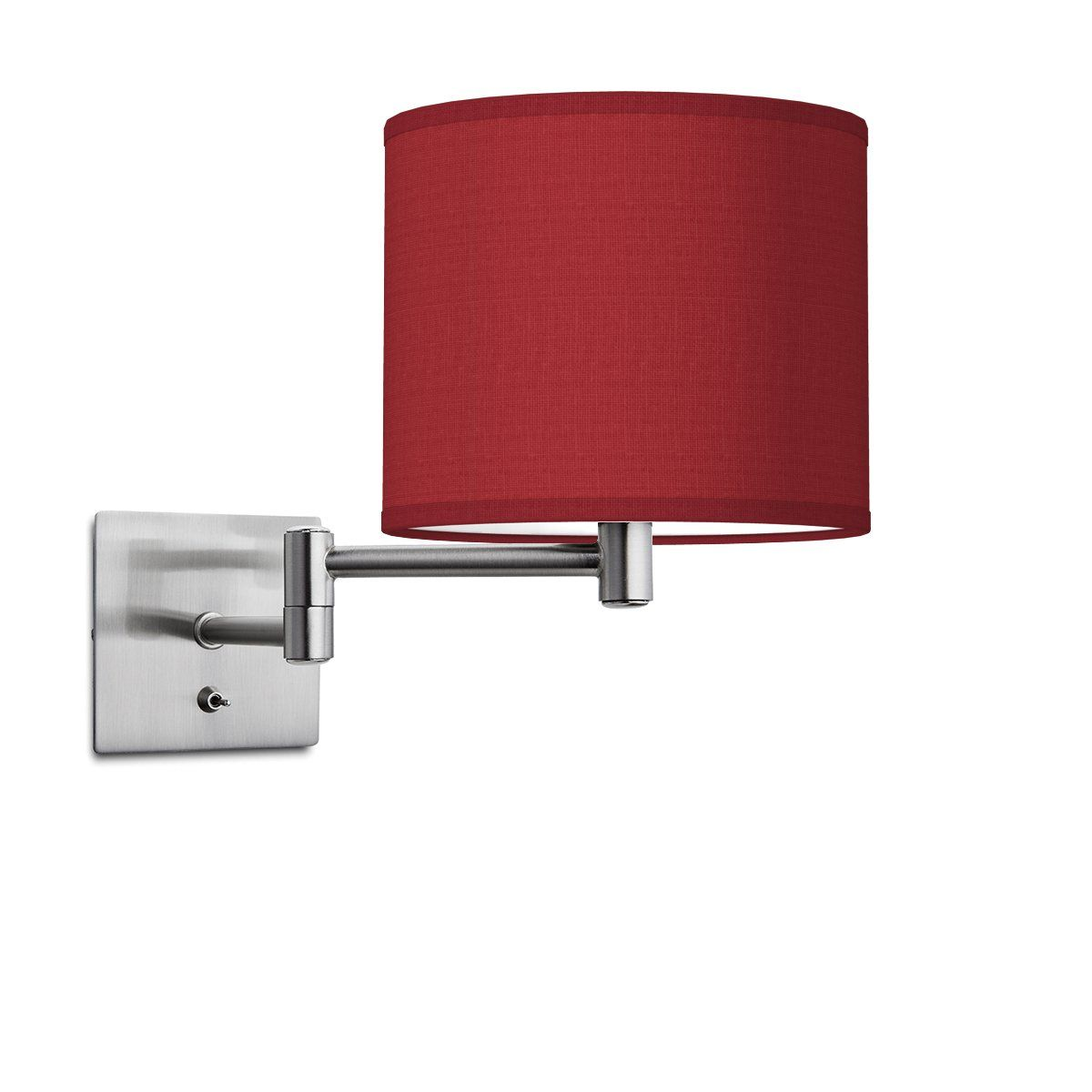 HOME SWEET HOME wandlamp swing bling Ø 20 cm - Pompeian red