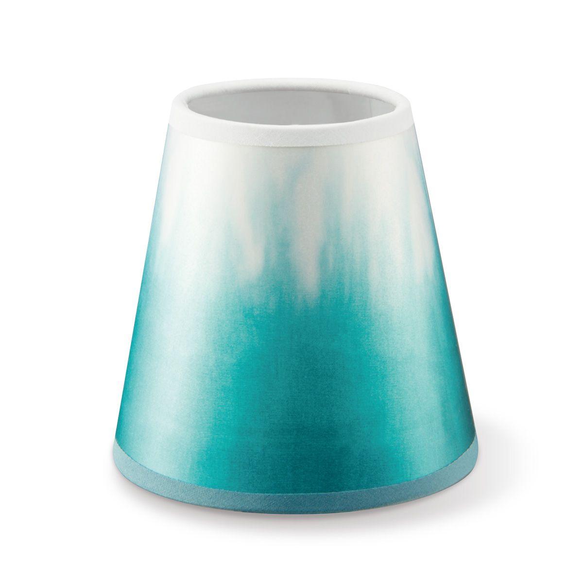 Home sweet home klemkap Dip - print wit/turquoise