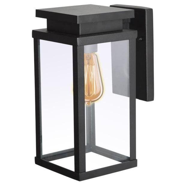 KS Verlichting buiten wandlamp Jersey Groot - zwart