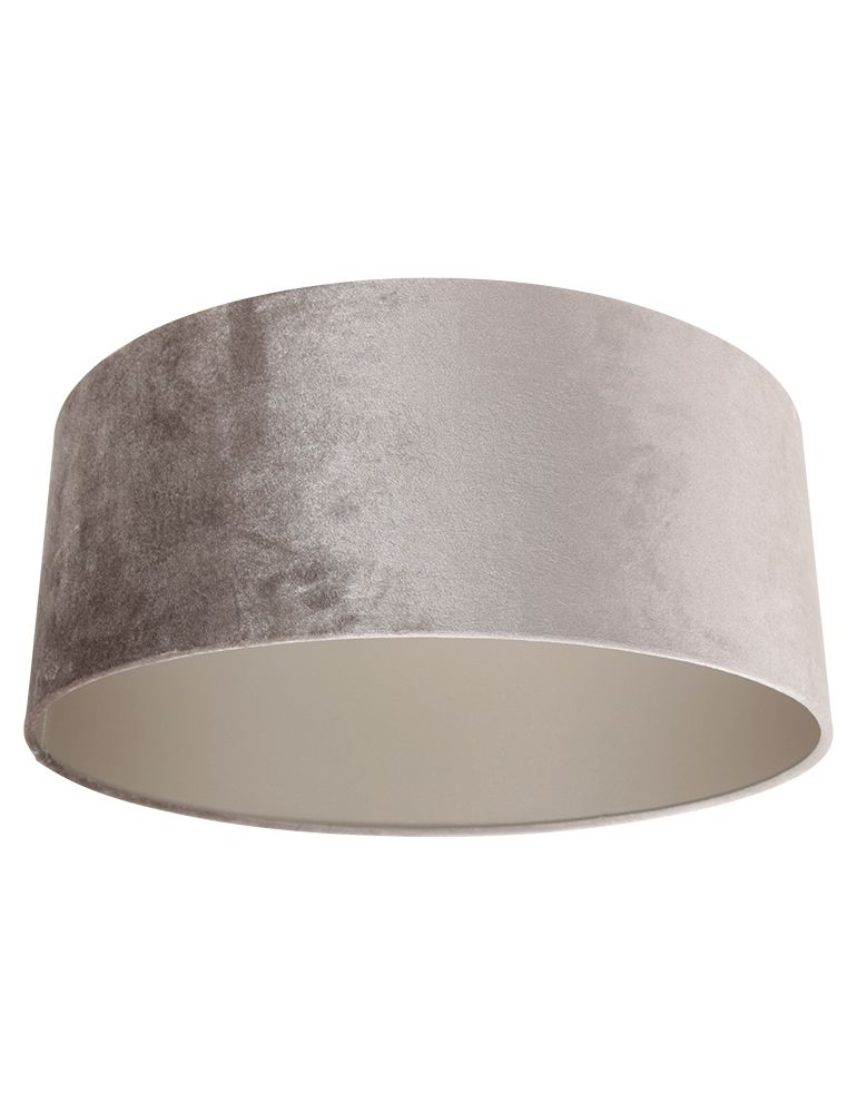 Steinhauer - Kap - lampenkap Ø 50 cm - velours zilver