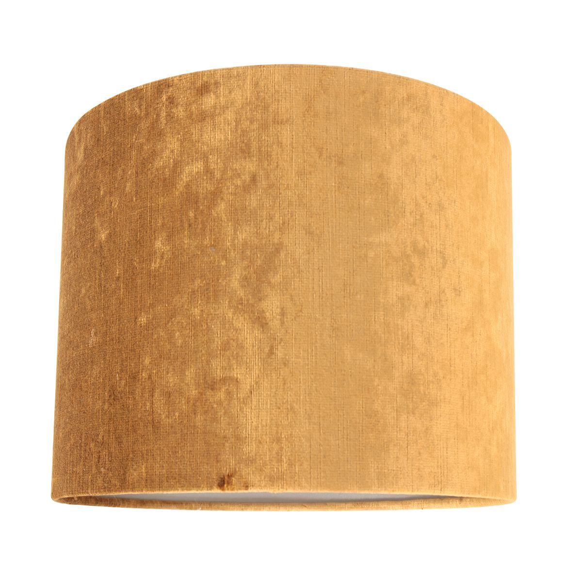 Steinhauer - Kap - lampenkap Ø 20 cm - velours goud
