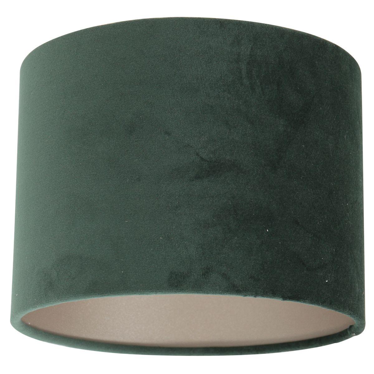 Steinhauer - Kap - lampenkap Ø 20 cm - velours groen